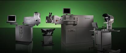 Laser INTRALASE et VISX S4IR