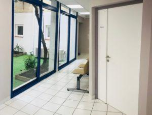 Intérieur du centre ophtalmo de Rivesaltes